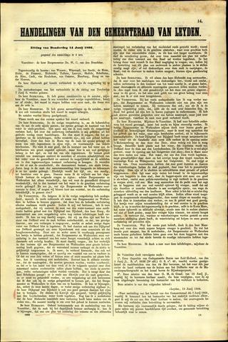 Handelingen van de Raad 1866-06-14