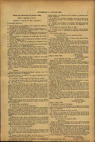 Handelingen van de Raad 1895-01-10