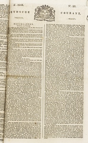 Leydse Courant 1844-03-01