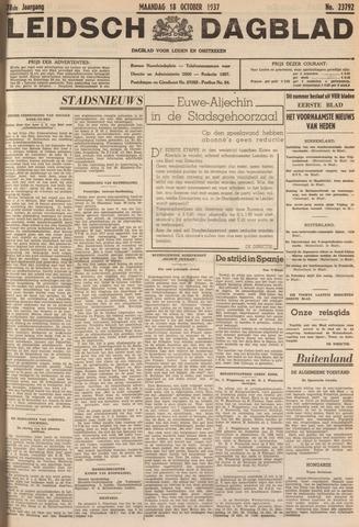 Leidsch Dagblad 1937-10-18