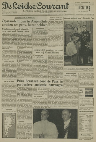 Leidse Courant 1955-09-19