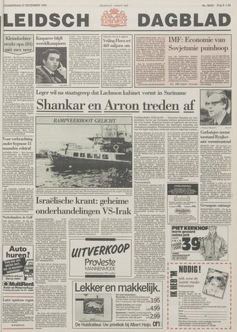 Leidsch Dagblad 1990-12-27
