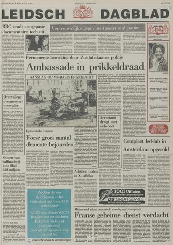Leidsch Dagblad 1985-08-08