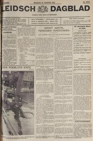 Leidsch Dagblad 1932-08-22