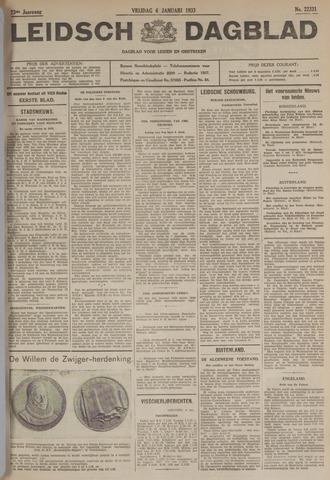 Leidsch Dagblad 1933-01-06