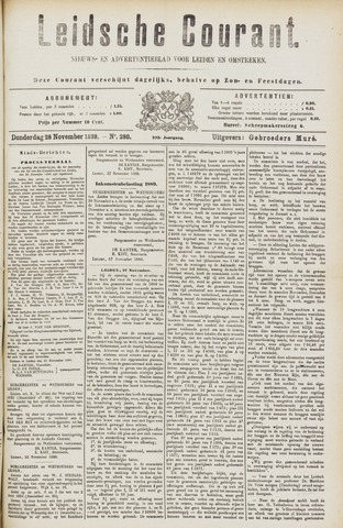 Leydse Courant 1889-11-28