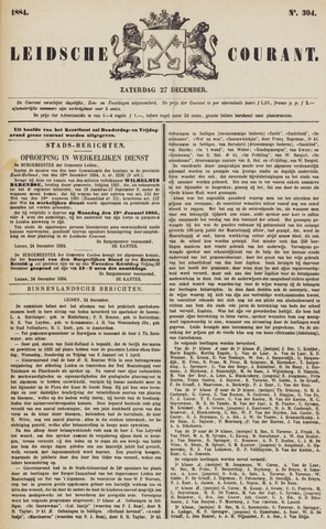 Leydse Courant 1884-12-27
