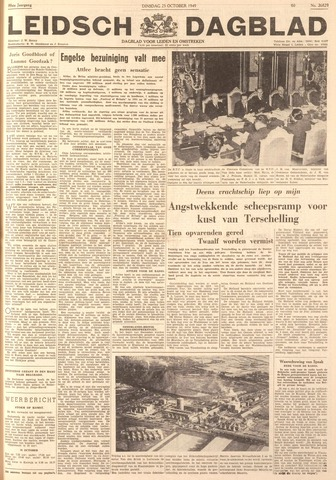 Leidsch Dagblad 1949-10-25