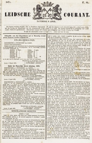Leydse Courant 1871-04-08