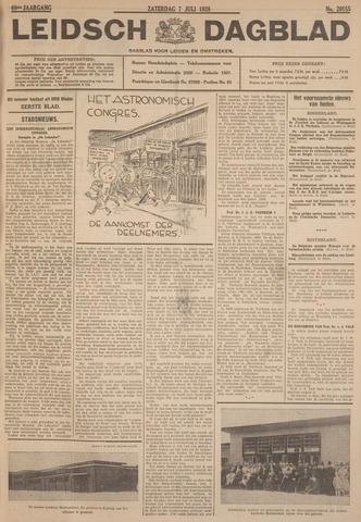 Leidsch Dagblad 1928-07-07