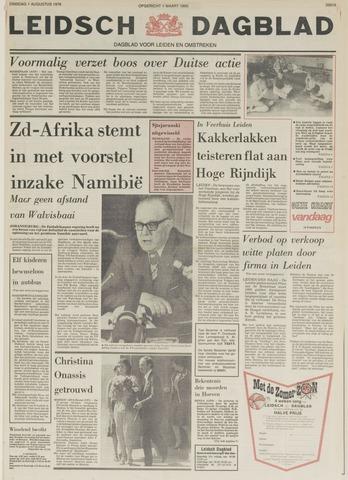 Leidsch Dagblad 1978-08-01