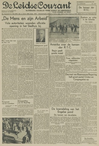 Leidse Courant 1949-08-25