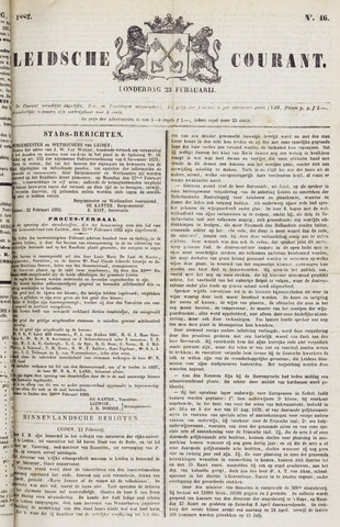 Leydse Courant 1882-02-23