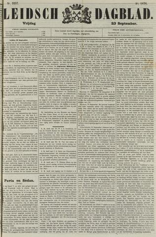 Leidsch Dagblad 1870-09-23