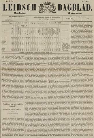 Leidsch Dagblad 1869-08-12