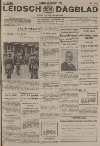 Leidsch Dagblad 1938-08-20