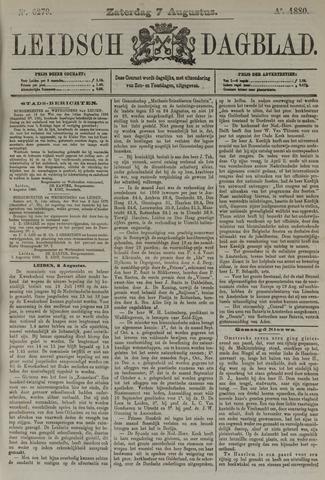Leidsch Dagblad 1880-08-07