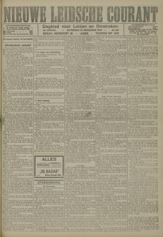 Nieuwe Leidsche Courant 1921-11-19
