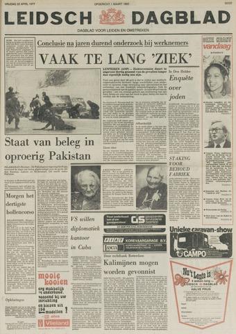 Leidsch Dagblad 1977-04-22