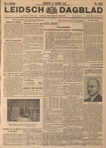 Leidsch Dagblad 1942-10-14