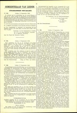 Handelingen van de Raad 1936-09-15