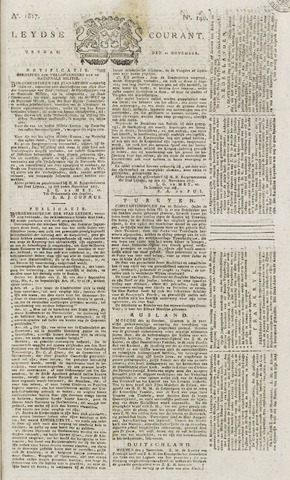 Leydse Courant 1817-11-21