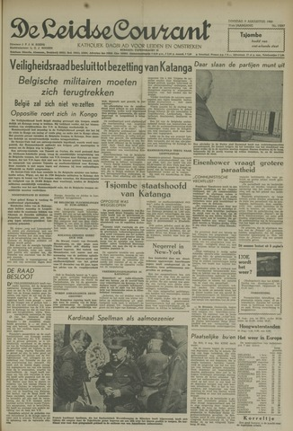 Leidse Courant 1960-08-09