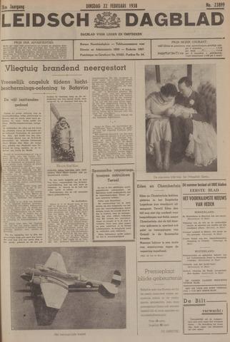 Leidsch Dagblad 1938-02-22