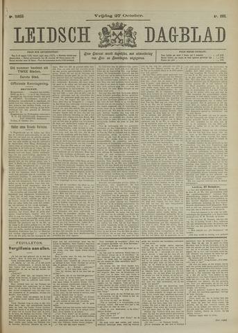 Leidsch Dagblad 1911-10-27
