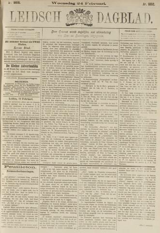 Leidsch Dagblad 1892-02-24