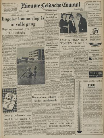 Nieuwe Leidsche Courant 1957-11-02