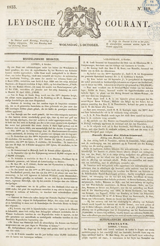 Leydse Courant 1853-10-05