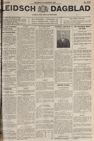 Leidsch Dagblad 1932-08-29