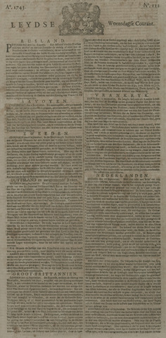 Leydse Courant 1743-09-18