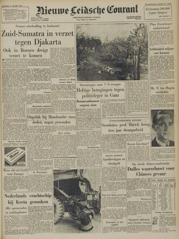 Nieuwe Leidsche Courant 1957-03-11