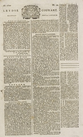 Leydse Courant 1820-01-24