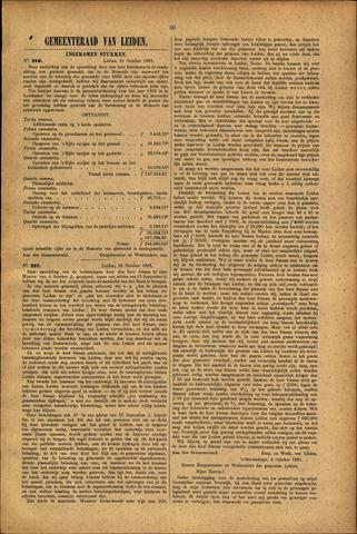 Handelingen van de Raad 1881-10-21