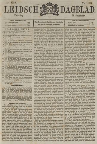 Leidsch Dagblad 1878-12-28
