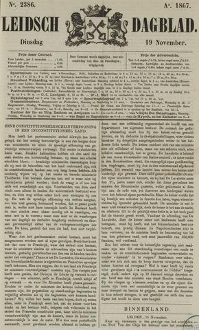 Leidsch Dagblad 1867-11-19