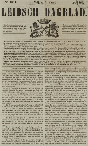 Leidsch Dagblad 1866-03-02