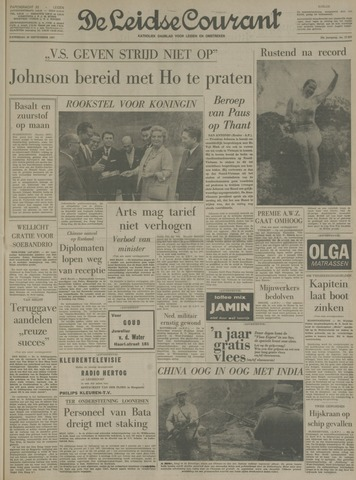 Leidse Courant 1967-09-30
