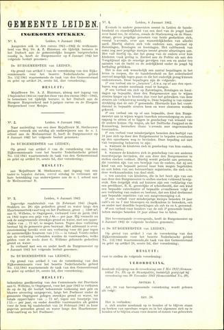 Handelingen van de Raad 1942-01-08