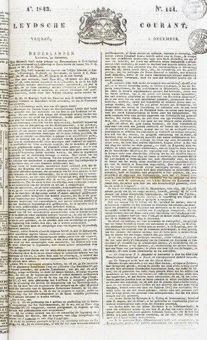 Leydse Courant 1843-12-01