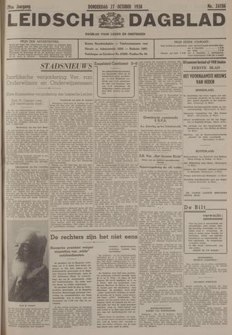 Leidsch Dagblad 1938-10-27