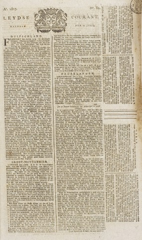 Leydse Courant 1815-07-10
