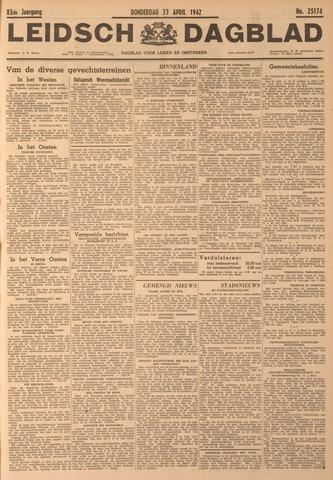Leidsch Dagblad 1942-04-23