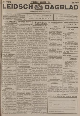 Leidsch Dagblad 1938-08-03