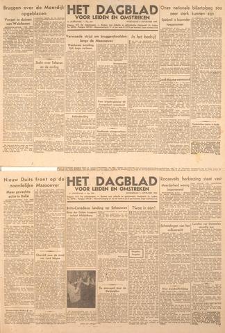 Dagblad voor Leiden en Omstreken 1944-11-09