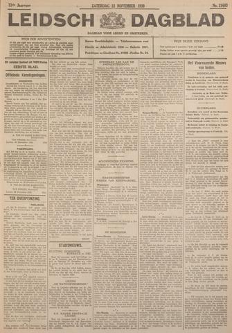 Leidsch Dagblad 1930-11-22