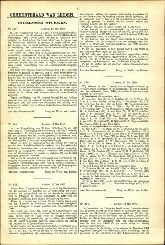 Handelingen van de Raad 1910-05-13